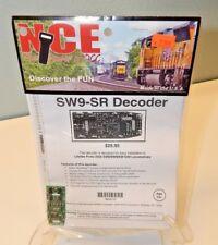 NCE #110 SW9-SR DCC Decoder for Proto-2000 SW8/SW9/SW1200 Locomotives NEW