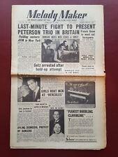 Melody Maker - February 27th 1954 - Music Newspaper Magazine Paper #B885