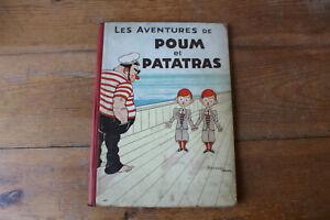 POUM et PATATRAS - BAILLE HACHE- ed. orig. 1933