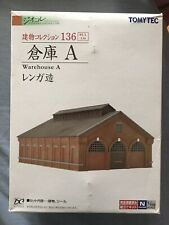 Tomytec Warehouse A diocolle 1/150 N scale Building 136 4543736256298 256298
