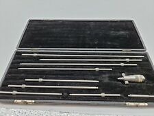 Starrett Machinist Inside Depth Micrometer Comes With Whats Pictured