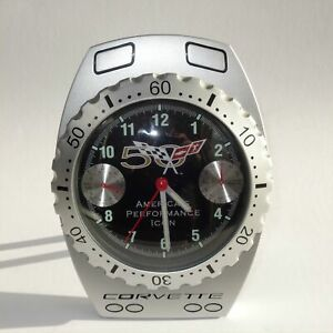 Chevrolet Corvette 50th Anniversary Speedometer Desk Alarm Clock