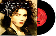 """ALANNAH MYLES - LOVE IS / ROCK THIS JOINT - 7"""" 45 VINYL RECORD PIC SLV 1989"""