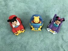 New listing Lot Of 3 Disney Cars Minnie Mickey Mouse Winnie The Pooh Kids Toys