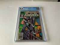 PUNISHER 1 CGC 9.8 WHITE PAGES NEWSSTAND NEWS STAND MARVEL COMICS 1987