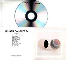 JULIANA DAUGHERTY Light 2018 UK 10-trk promo test CD