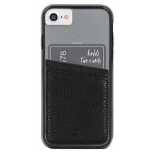 Case-Mate Black Pockets Stick on card Holder