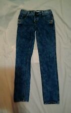 Roxy Limited Edition Women's Faded Skinny Blue Denim Jeans Size 3