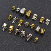 5/10Pcs Dreadlock Beads Hair Braids Hair Cuff Clip Accessories Punk Style