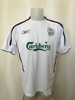 FC Liverpool 2003/2004 Away Sz 42/44 Reebok football shirt jersey soccer maillot