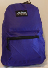 Backpack by Moda West Artic Star Purple Headphone Port 17 x 12 x 6