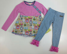 Matilda Jane Outfit Girls 4 In Disguise Top Strike A Pose Leggings Make Believe