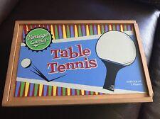 Vtg Retro Travel Ping Pong Game Set Table Tennis Balls Paddles Net 🏓🏓🏓🏓🏓🏓