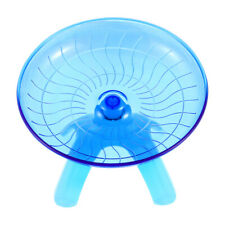 1 Pc Durable Plastic Flying Saucer Hamster Exercise Wheel for Playing