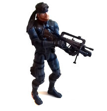 "Mcfarlane Toys Metal Gear Solid 2 Solid Snake 6"" Video Juego Anime Figura Rara"