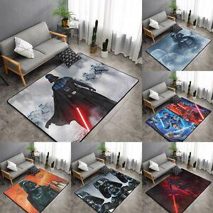 Star Wars Darth Vader Rugs Anti-Skid Area Rug Living Room Soft Floor Mat Carpet