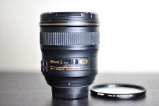Nikon AF-S 24mm F/1.4G Wide Angle Prime FX Lens w/ UV Filter  - US Model!