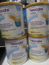 4 cans NEOCATE Jr. Vanilla Exp. 04/19/2022