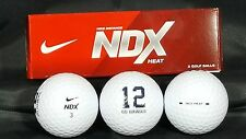 Seattle Seahawks 12th Man Nike NDX Custom Logo Golf Balls (3 Pk Sleeve)