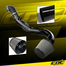 06-11 Honda Civic Si 2.0L 4cyl Black Cold Air Intake + Stainless Steel Filter