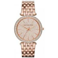 MICHAEL KORS DARCI WOMENS WATCH MK3439 ROSE GOLD CRYSTAL PAVE DIAL RRP £309.00