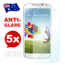 5x Premium Anti Glare Matte Screen Protector For Samsung Galaxy S4 i9500 AU