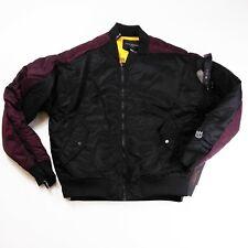 Cult of Individuality mens varsity Jacket size Medium 100%AUTHENTIC 1of1 black
