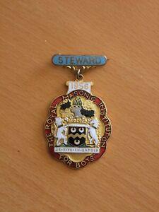 Steward's Jewel Royal Masonic Institute for Boys 1956 RMIB