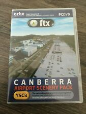 FSX orbx CANBERRA Airport Australia YSCB AMAZING SCENERY..