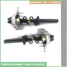 Pair Front Complete Struts Shock Absorbers Assembly For 09-14 Audi A4 11-14 A5