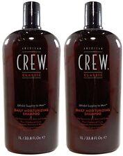 American Crew Daily Moisturizing Shampoo 33.8oz Pack of 2
