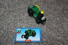 Thomas the Train & Friends Wooden Railway Trevor Card Set 2002 Green Tractor Toy