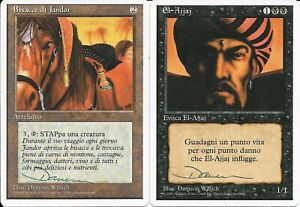 Partial Set of MTG M:tG ITALIAN REVISED Dameon Willich - SIGNED ARTIST PROOF S!