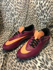 Nike Girls Hypervenom Size US 10 EUR 42 Purple/Orange 599074-685