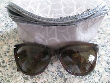 Calvin Klein brown tortoiseshell frame sunglasses. CK4220SRX.