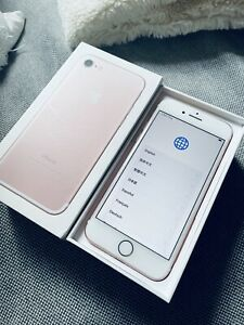 Unlocked Apple iPhone 7 256GB - Rose Gold - Excellent Condition - No Accessories