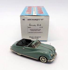 Minimarque 43 1/43 Scale UK14B - 1949 Austin Atlantic Conv - Romney Blue