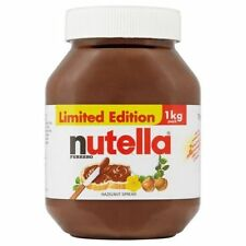 Nutella Chocolate Hazelnut Spread | HUGE 1kg Jar | Glass Jar
