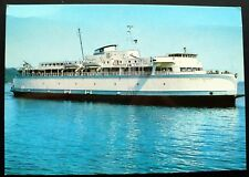 1960s M. V. Queen of Saanich Ferry, British Columbia, Canada