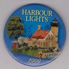 """Harbour Lights 1999 3-Inch Lighthouse Pin Signed by Bill Younger """"B Younger 99"""""""