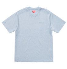 Supreme Ss18 Overdyed Tee Light Blue Sz L