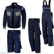 Arbeitslatzhose Arbeitshose Arbeitsjacke Shorts Arbeitsbekleidung marineblau
