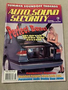 Auto Sound & Security Magazine August 1994
