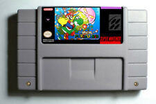 Brutal Mario World on SNES Super Nintendo USA NTSC - Luigi Yoshi Peach Kitiku