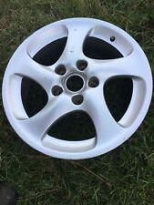 "Genuine Porsche 911 996 Factory Turbo C4S & 986 18""x7.5"" Front Flat Twist Wheel"