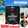 20L Camp Shower Bag Solar Heated Water Pipe Portable Camping Outdoor Hike Travel