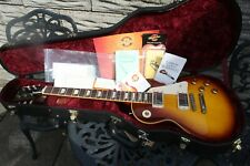 GIBSON LES PAUL CUSTOM SHOP LPR8 58 RE-ISSUE +CANDY+COA HUGE NECK MINTY MINTY