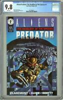 Aliens/Predator The Deadliest of the Species #1 CGC 9.8 White Pages 2011089013