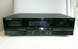 Quality Pioneer CT-W510 Stereo Double Cassette Tape Deck *Made in Japan*