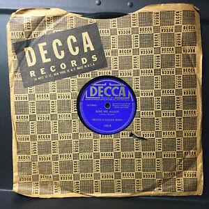 78 RPM Provol's Golden Birds 1934'  Decca  Jukebox  Record Merry Widow & Kiss Me
